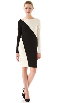 alice + olivia Josefina Cutout Dress. Holiday dress #2