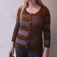 Ravelry: Stripes gone crazy pattern by atelier alfa (Front)
