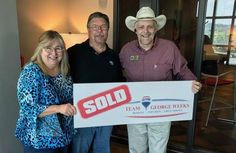 Congratulations to Donna & Mike H. on the sale of their house with #TeamGeorgeWeeks & Eddie Mann! #sold