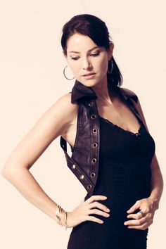 Nexus Vest Leather.  leathervest  womenswear  womensfashion  womensvest   womenstops  burningman 16bb50d54