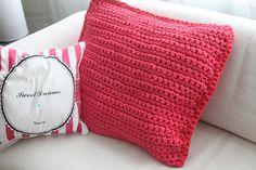 weberin: Zpagetti - Chills babe Fabric Yarn, T Shirt Yarn, Home Deco, Cushions, Throw Pillows, Pink, Google, Templates, Home