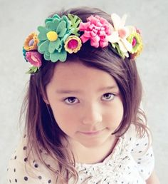 Gorgeous floral headband for kids, girls. Check out this blog for kids products, DIY and inspiration for Mums!