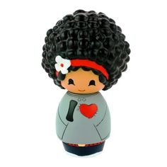 Momiji Dolls: Cute dolls, hand painted, with a tiny folded card below.  So cute!