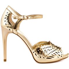 Ivanka Trump Ariell - Gold Leather