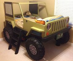 Colt needs this since he is obsessed with jeeps now!