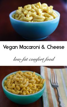 Get ready for a creamy vegan macaroni and cheese that is low in fat and quick and easy to make!