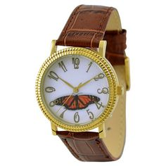 Butterfly Watch Red by SandMwatch on Etsy, $19.90