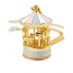 Disney Couture Dumbo Carousel Necklace