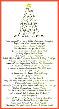 Design Muse: The Best Holiday Playlist of All Time
