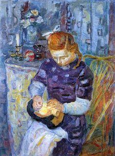 Con nuestras manos: Encajeras en el arte Autor: Mario Vellani Marchi (1895-1957