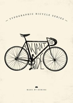 Bike Poster Submitted by koningstuff