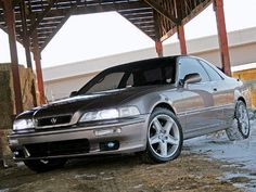 The Acura Legend is a luxury car manufactured by Honda sold in the U.S., Canada, and parts of China, under Honda's luxury brand, Acura from 1986 to 1995 as both a sedan and coupe. It was the first flagship sedan sold under the Acura nameplate, until being renamed in 1996 as the Acura 3.5RL. The 3.5RL was North American version of the KA9 series Honda Legend.    Brought to you by: www.copartdirect.com Honda Legend, American Version, Japanese Cars, Vroom Vroom, Long Live, Jdm, Used Cars, Luxury Branding, Luxury Cars