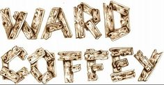 Ward Coffee by Hello Sprout!, via Flickr  (A logo on a friends surfboard, all hand lettering by me)