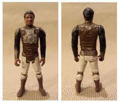 Star Wars Lando (Skiff Guard outfit) vintage Action figure - LFL 1982 by essenzials on Etsy