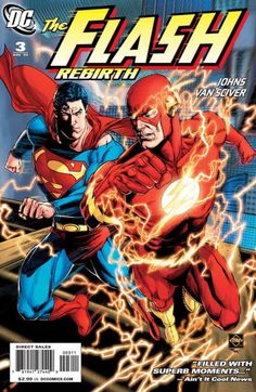 the flash comic book photos | The Flash: Rebirth 1 (DC Comics) - ComicBookRealm.com