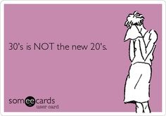 Does anyone in their 30's actually feel this way? Personally, I can't believe at one point this was a thing. When I was 29, many moons ago, I dreaded the thought of turning 30. I didn't feel like...