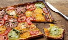 Sweet, salty and rich … Tomato tart by Richard Bainbridge