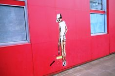 Ready for Wimbledon 2015 the classic tennis pose 'Painting Wimbledon' by Unify...