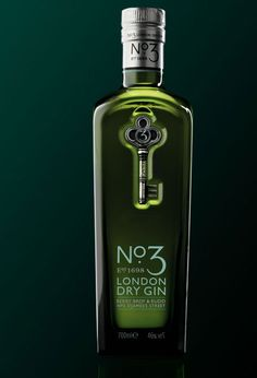London's No. 3. Solid Gin - Enjoy on the Rocks.