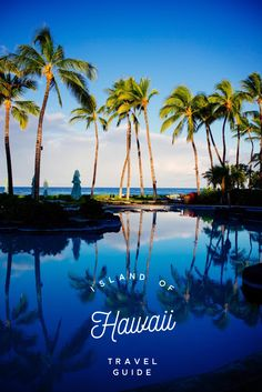 The Big Island is the best way to experience Hawaii. This island is the world's most active volcano and has nearly a dozen microclimates. Find the best places to eat, stay, and what to do on the Island of Hawaii on thetastesf.com #travel #hawaii #localguide