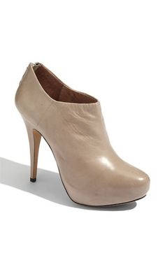 i've been looking for a great bootie and a nude heel.  why not kill two birds with one stone?