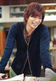 "Arashi's Jun Matsumoto at drama shoot for ""Shitsuren Chocolatier"". 松本潤、嵐"
