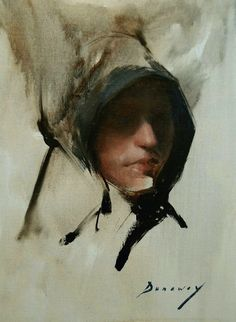 """""""Girl with Bonnet"""" - Michelle Dunaway, oil on linen {contemporary figurative art female head expressionist woman face portrait abstraction painting Figure Painting, Painting & Drawing, Classical Art, Portrait Art, Portrait Paintings, Female Art, Female Head, Woman Face, Figurative Art"""