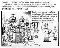 Romani 1,21-22