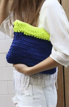 Wallaby Clutch | We Are Knitters