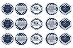 #DIY make cool jewelry! Dallas Cowboys Bottle Cap Images $2.00 #BottleCapsByEli