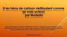 Diaporamas gratuits chez kamdou: PPS Si les héros de cartoon vieillissaient comme d...
