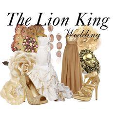 The Lion King by bryannnne on Polyvore featuring Badgley Mischka, Two Lips, Miu Miu, Rachel Rachel Roy, Kimberly McDonald, Tarina Tarantino, Monsoon and H&M