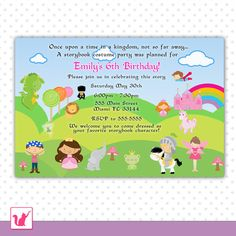 Birthday Invitation Cards For Kids. Do you have trouble choosing the invitation design that suits you? We have collected some of the latest Birthday Invitations as inspiration. Happy Birthday Invitation Card, Kids Birthday Party Invitations, Printable Birthday Invitations, Invitation Cards, Invites, Birthday Text, Late Birthday, Birthday Cards, Storybook Baby Shower