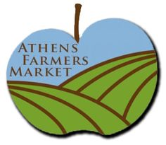 Athens Farmers Market turned 40 years old in June.  A year round, twice a week opportunity to support local growers and producers and eat healthy and well in the process.  That's where you'll find me (and half the town) every Saturday morning!