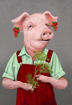 Ilustración Bob Venables.