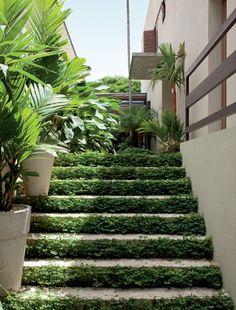 RI Arquitetura: Escada na área externa