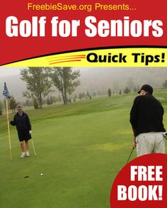 Golf For Seniors. Free Book! (as a gag gift)