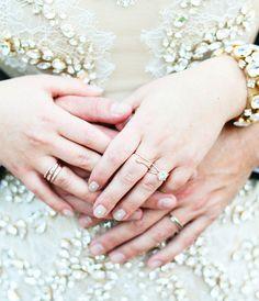This bride's wedding dress is a fashion girl's DREAM