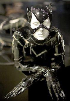 "Michelle Pfeifer's Cat Woman Costume in ""Batman Returns"" 1992"