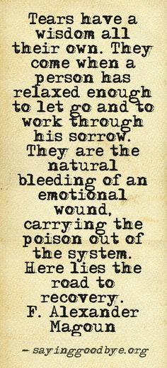 #Tears #Grief #Sorrow #Healing #Pain