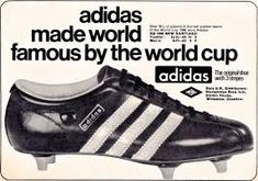 Adidas Santiago, my first pair of proper football boots which I bought on a school holiday to Dinard in France when I was 12 or Old Football Boots, Old Football Shirts, Soccer Boots, Retro Football, Adidas Soccer Shoes, Adidas Boots, Adidas Football, Sport Football, Adidas Sneakers