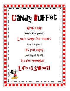Items similar to Dr Seuss Birthday or Baby Shower Party Candy Buffet Sign on Etsy Dr Seuss Birthday Party, Disney Cars Birthday, Cars Birthday Parties, Birthday Ideas, 2nd Birthday, Birthday Quotes, Elmo Party, Thomas Birthday, Birthday Candy