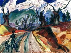 The Magic Forest Edvard Munch - 1919