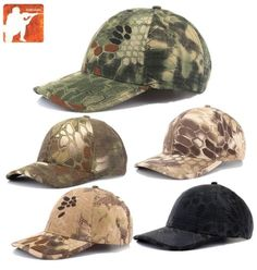 500a6604e7489 MANDRAKE Baseball Cap Tactical Ripstop Hat Kryptek Airsoft Hiking Hunting