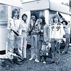 Sir Rod with The Faces – Ronnie Lane, Ronnie Wood, Ian McLagan and Kenney Jones in the 1970s