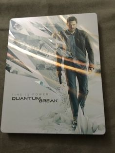 Quantum Break Xbox One Steelbook (No Game included) Bubble Wrapped Boxed Mint - http://video-games.goshoppins.com/video-gaming-merchandise/quantum-break-xbox-one-steelbook-no-game-included-bubble-wrapped-boxed-mint/