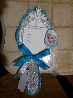 I know it's Frozen but could work for any princess theme! Frozen Themed Birthday Party, 4th Birthday Parties, Frozen Party, Birthday Party Decorations, Frozen Invitations, Frozen Princess, Princess Theme, Party Time, Birthdays
