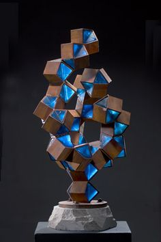 Coral by albert young Abstract Sculpture, Sculpture Art, Om Art, Welding Art Projects, Metal Wall Art Decor, Blown Glass Art, Steel Art, Detail Art, Art Object
