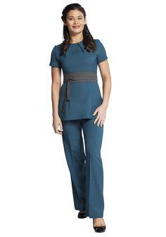 Florence roby beauty uniforms beauty tunics salon wear for Uniform spa malaysia