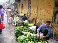 Countryside Market In Vietnam...